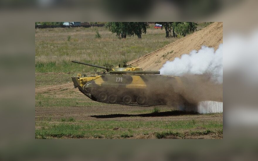 Rusiškas tankas T80