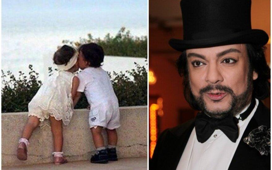 Филипп Киркоров поделился фотографией своих детей
