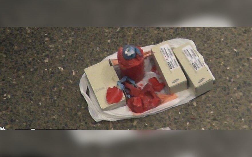 В камере хранения обнаружены наркотики, спрятанные в свечку