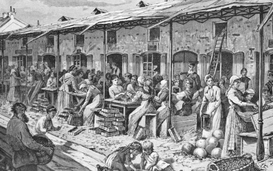19 a. turgus Rusijoje, Sankt Peterburge