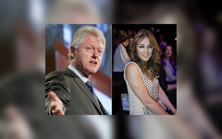 СМИ: У Билла Клинтона был роман с кинозвездой Элизабет Херли
