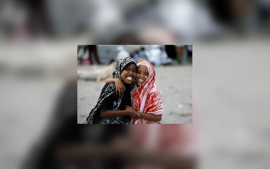 Somalio pabėgėlių stovykla