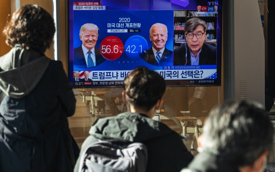 Выборы в США: судьба президентства решается в четырех штатах, американцы боятся насилия
