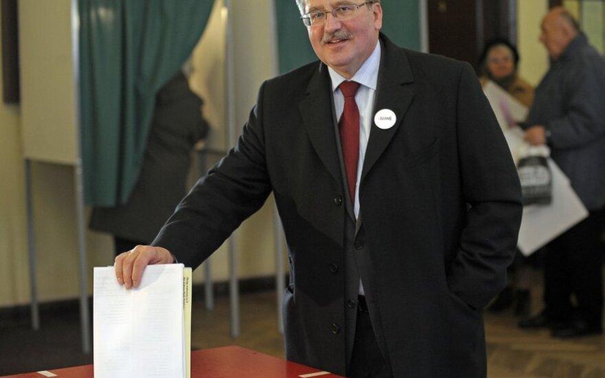 Президент Польши посетит Вильнюс на торжествах 16-го февраля