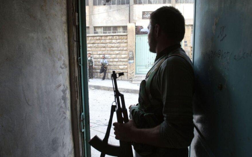 Сирийские повстанцы вошли в город со складами химоружия