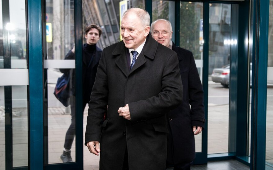 Третья попытка: Андрюкайтис будет баллотироваться на выборах президента Литвы