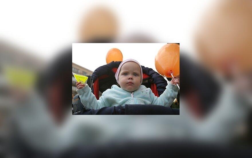Kūdikis vežimėlyje