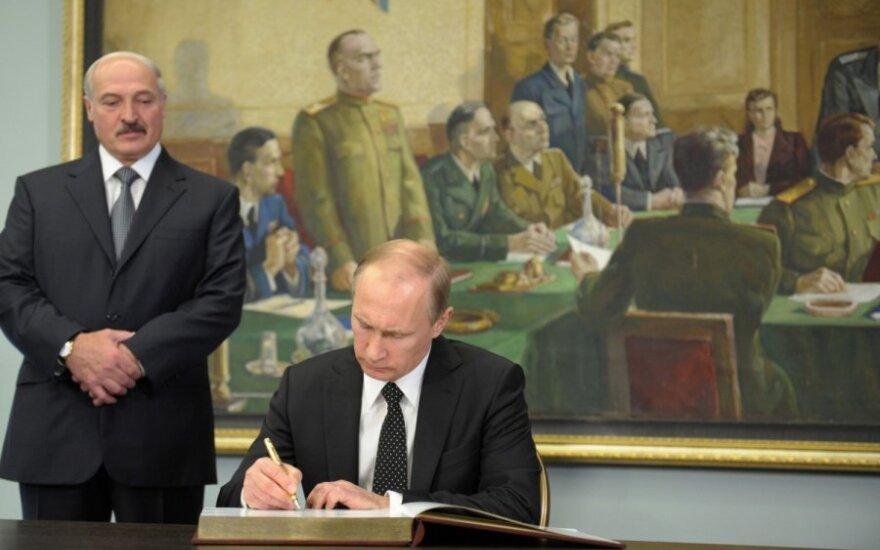 Aleksandras Lukašenka, Vladimiras Putinas
