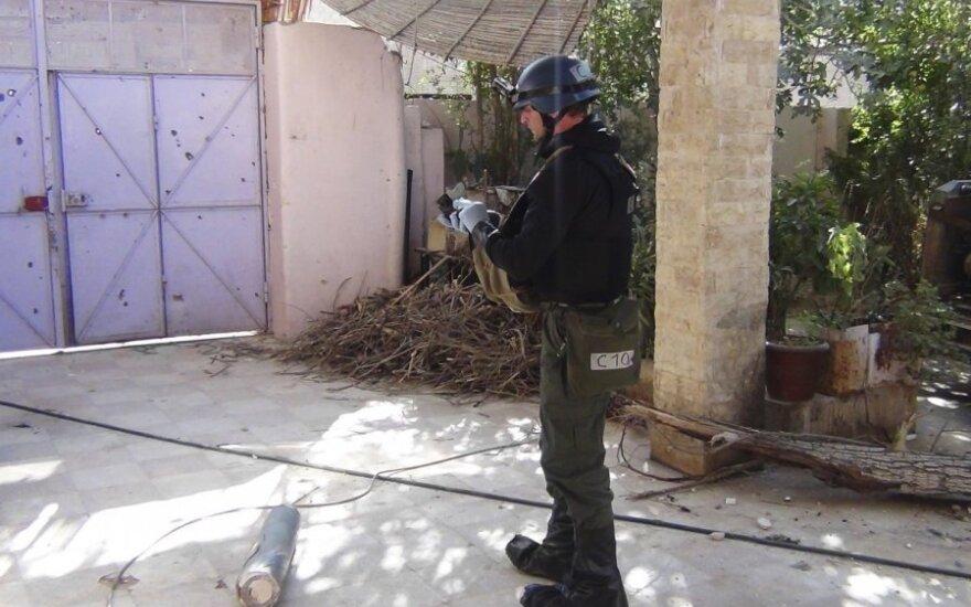 Инспекторы ООН по химоружию вернулись в Сирию