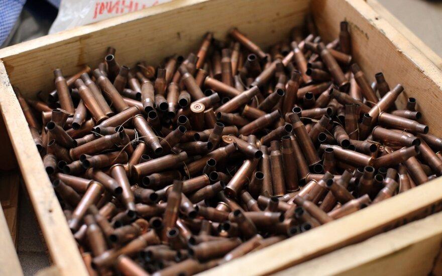 Rasta šaudmenų