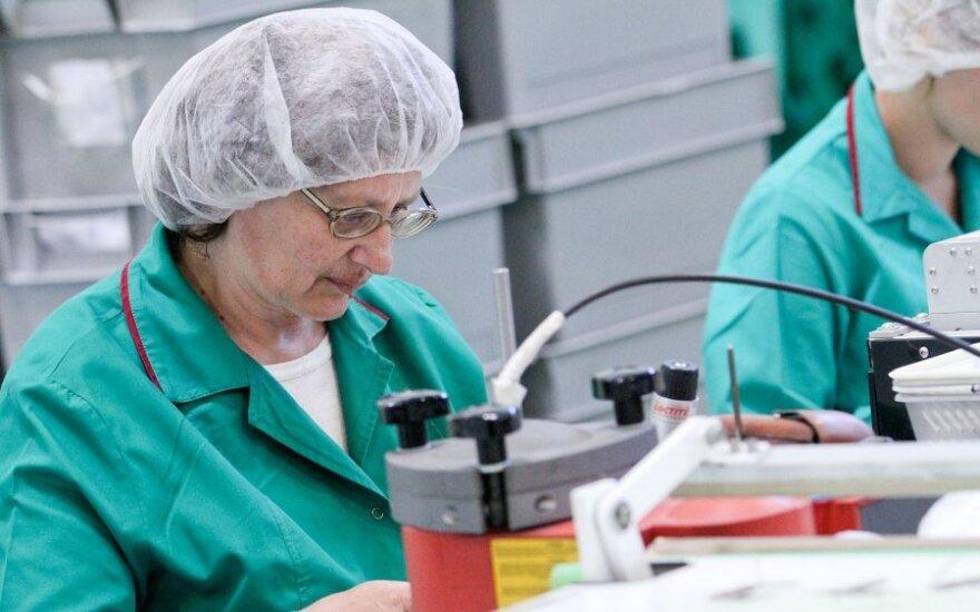 Евростат: промпродукция в Литве дешевела в ЕС больше всего