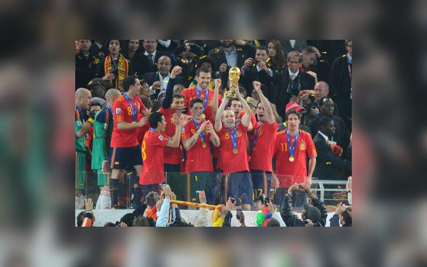Ispanijos futbolininkai – pasaulio čempionai