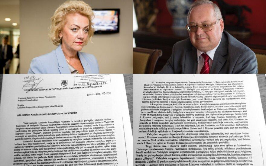 После информации о депутате Розовой консерваторы просят о расследовании влияния РФ в Литве