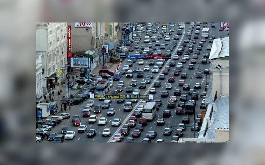 В Москве водители протестуют против повышения цен на бензин