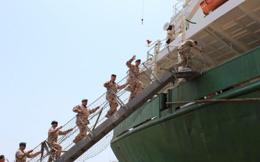 Литовские военные приступили к миссии в Сомали