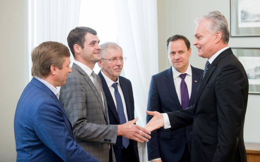 Ramūnas Karbauskis, Remigijus Žemaitaitis, Gediminas Kirkilas, Valdemaras Tomaševskis, Gitanas Nausėda