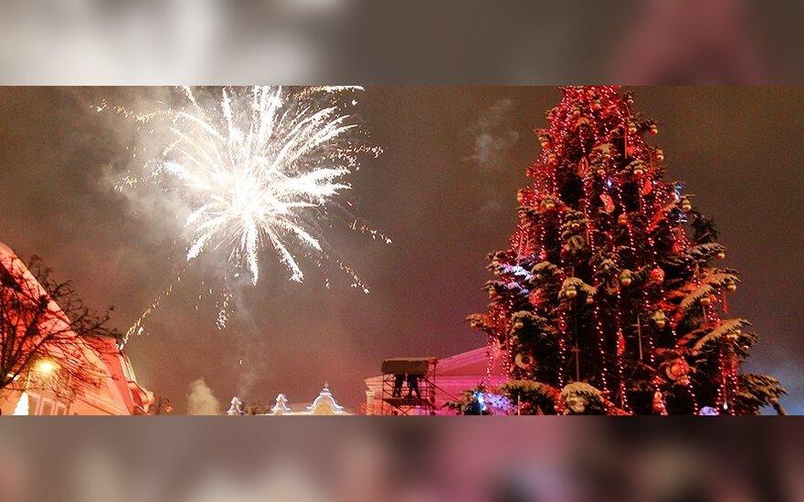 На Новый год столицу и курорты Литвы оккупируют россияне и белорусы