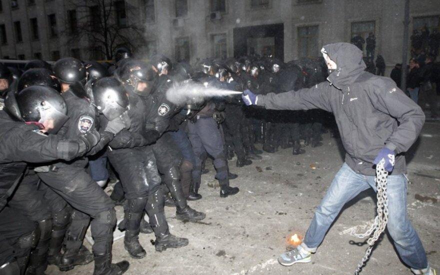Opozycjoniści ogłosili początek rewolucji. Milicja bezlitośnie bije demonstrantów