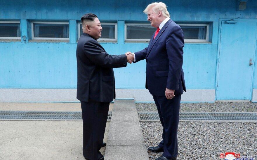 Трамп готов провести новые переговоры с Ким Чен Ыном