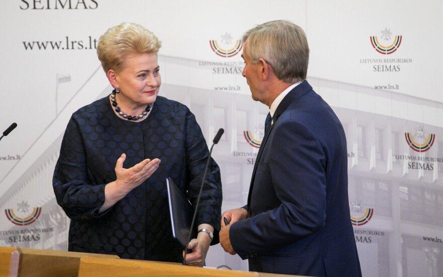 Президент Литвы предупредила, к чему может привести политическая война