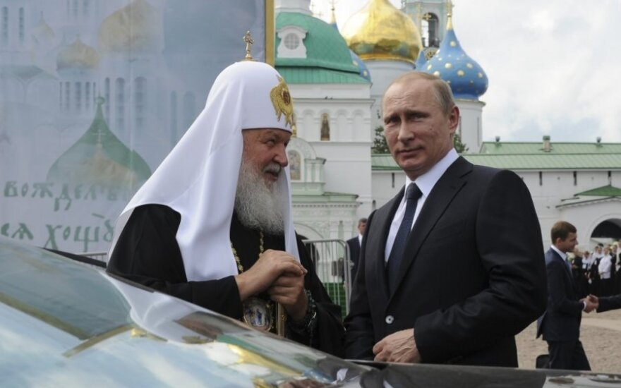 Vladimiras Putinas, patriarchas Kirilas