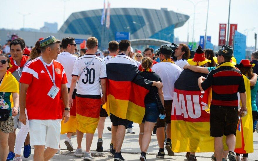 Vokietijos rinktinės sirgaliai