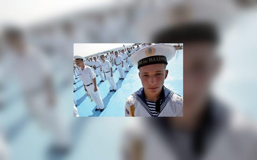 Ukrainietis jūreivis Sevastopolyje.