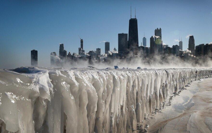 Из-за рекордных морозов в США погибли как минимум восемь человек