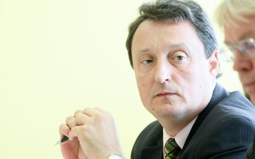 Кубилюс встретился с кандидатом на пост главы МВД Мелянасом