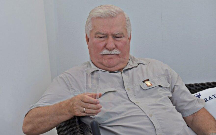 Lech Wałęsa: Zostałem wystawiony i sponiewierany