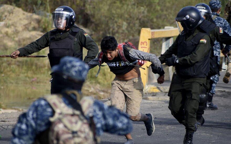 Protestai Bolivijoje