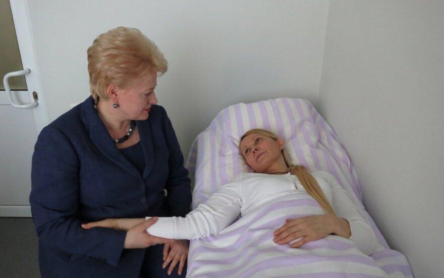 Президент Литвы позвонила Тимошенко