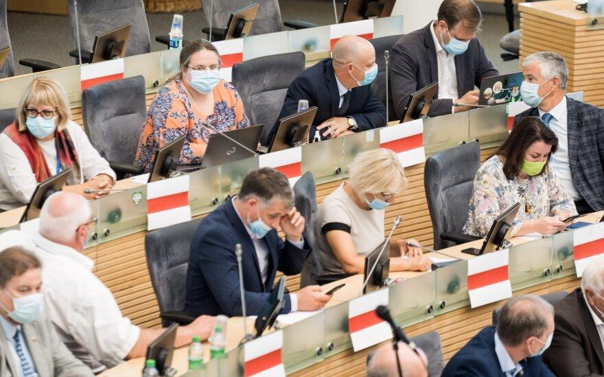 Сейм Литвы призывает не признавать выборы в Беларуси и ввести санкции