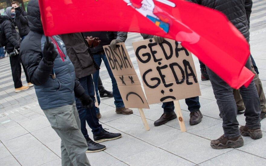 На организуемую Тапинасом акцию протеста готовят автобусы для подвоза