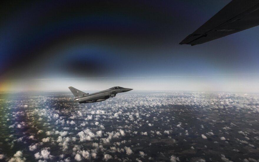 Сменился контингент воздушной полиции НАТО в странах Балтии