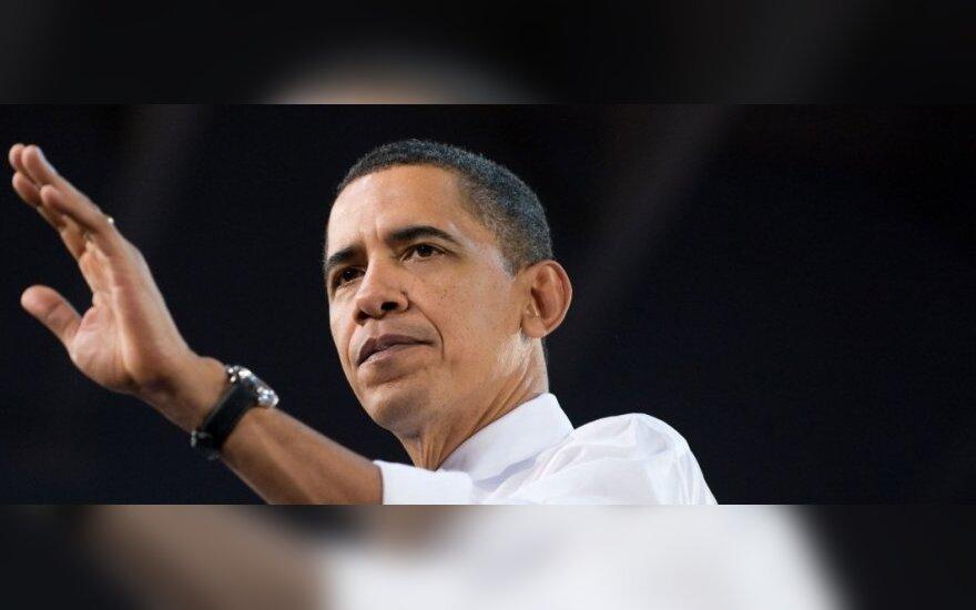 Обама призвал Путина отвести войска от украинской границы
