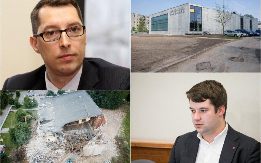 Baseinų krizė sostinėje, Emilis Vaitkaitis, Povilas Poderskis