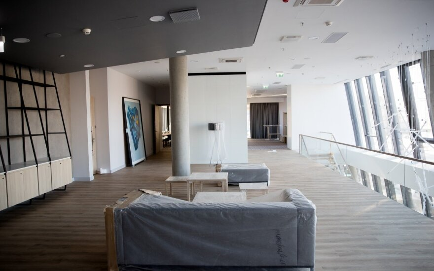 "На месте стадиона ""Жальгирис"" построена новая гостиница"