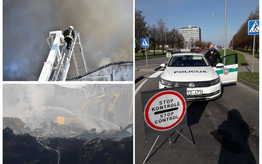 Пожарные о пережитом кошмаре в Алитусе: некоторые коллеги кашляли кровью