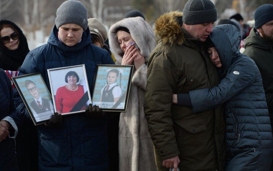 Laidojamos tragedijos Kemerovo prekybos centre aukos