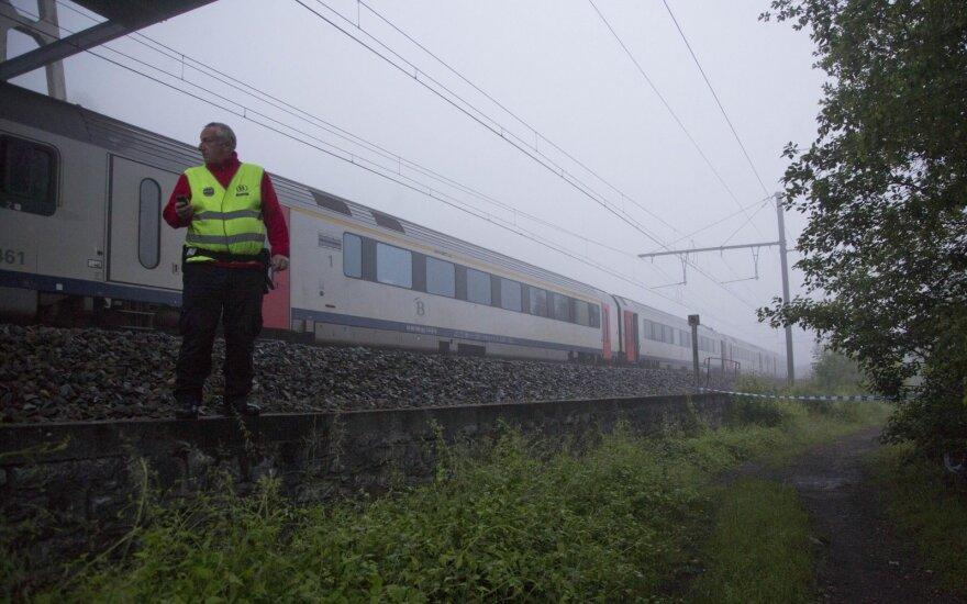 В Бельгии столкнулись пассажирский и товарный поезда