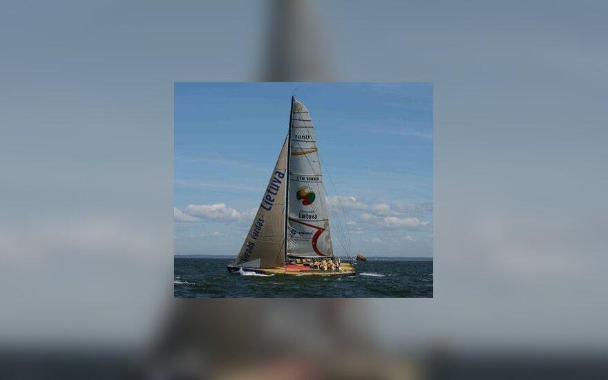 В Клайпеду прибыла яхта Ambersail