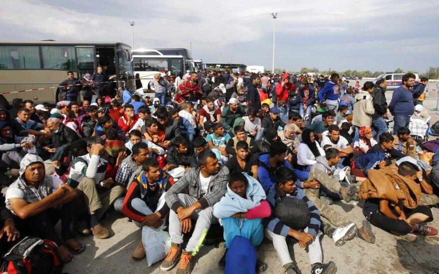Около 10 тысяч мигрантов прибыли за один день в Австрию