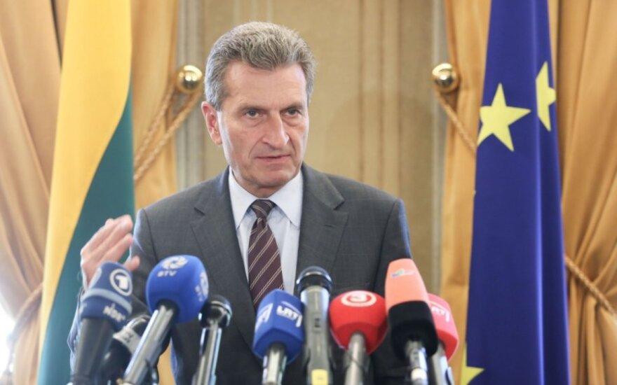 Оттингер: терминал СПГ - истинная история успеха Литвы