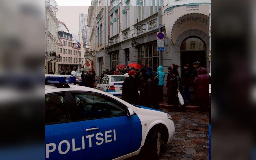 Пьяный дипломат РФ протаранил машину полиции