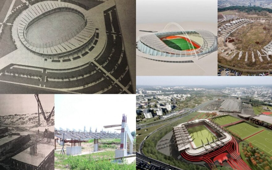 Самоуправление Вильнюса: проект Национального стадиона в Вильнюсе вновь застрял