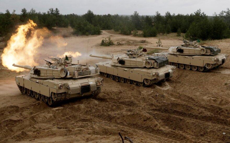 Abrams tankai