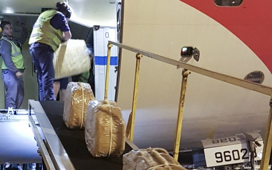 """Траектория """"кокаина"""": Flightradar подтвердил прилет в Аргентину Ил-96 Управделами президента России"""