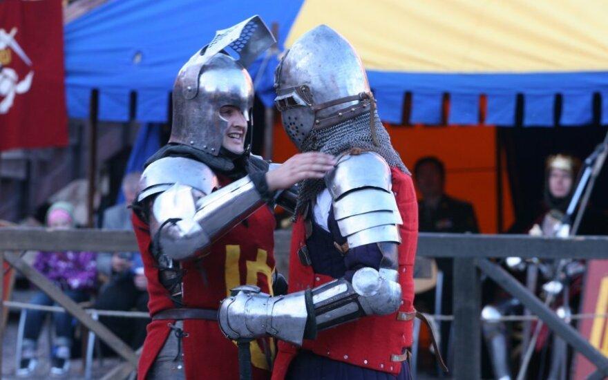 Riterių turnyras Trakų pilyje