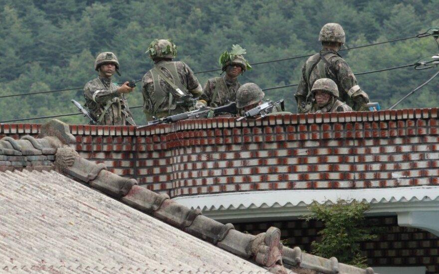 Артиллерия Южной Кореи открыла огонь в ответ на обстрел со стороны КНДР